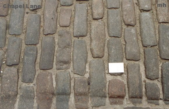 cobble stones in the Old Town